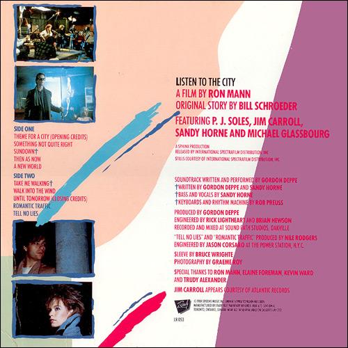 Spoons Music and Video...P J Soles Lyrics